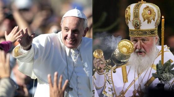 """Il Papa incontrerà il Patriarca russo: <br />""""Faccia a faccia in un paese neutro"""""""