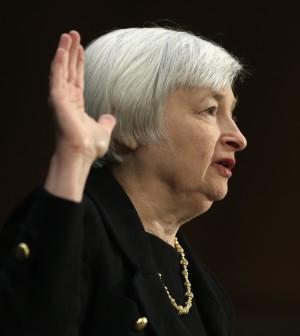 """La Yellen (Fed) riferisce al Senato:<br />""""Economia Usa ancora da sostenere"""""""