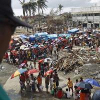 Tacloban, la citta distrutta dal tifone Haiyan