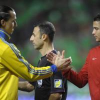 Spareggio mondiale, Portogallo-Svezia 1-0: Ronaldo batte Ibrahimovic