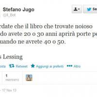 Addio a Doris Lessing, il cordoglio su Twitter
