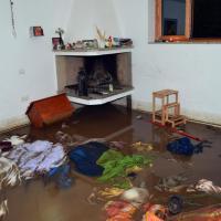 Maltempo Sardegna: le foto dentro le case allagate
