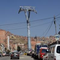 La Paz. Ecco la funivia dei record