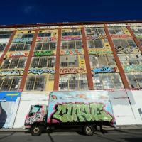 New York, imbiancato il 5Pointz: l'edificio dei graffiti sarà demolito