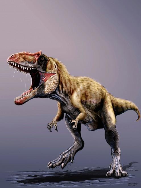 Siats, il 'bullo' che terrorizzava i tirannosauri