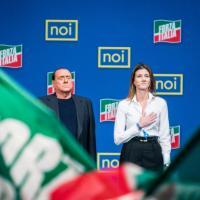 Giovani di FI, Annagrazia Calabria sul palco con Berlusconi
