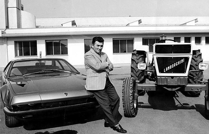 Ferruccio Lamborghini, che storia