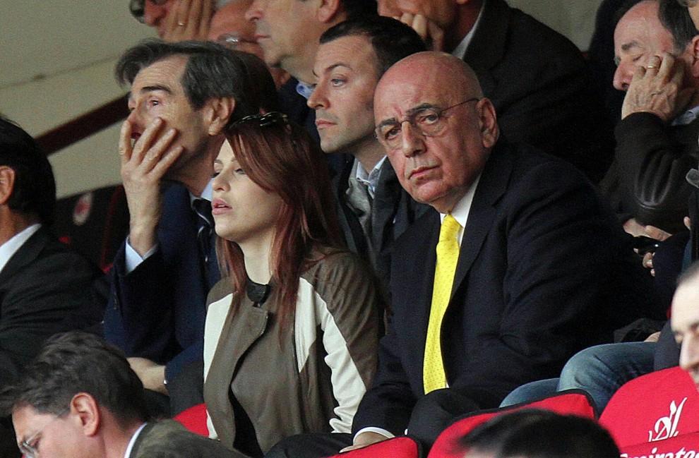 """Milan, Galliani lascia: le foto con la """"nemica"""" Barbara Berlusconi"""