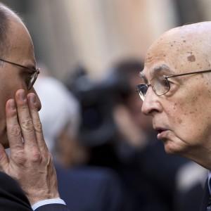 Letta al Colle da Napolitano: la fiducia al governo si voterà l'11 dicembre, dopo primarie Pd