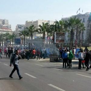 Alessandria, gli scontri degli studenti e delle organizzazioni per i diritti umani contro le leggi che violano la libertà