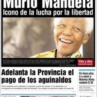 Nelson Mandela è morto, le prime pagine da tutto il mondo / 2