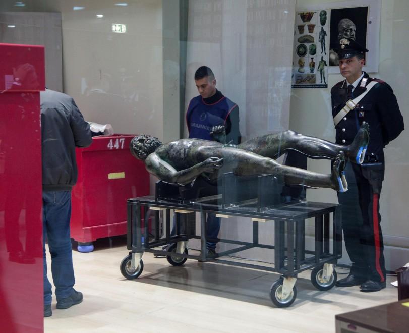 Reggio C. i Bronzi di Riace tornano al museo archeologico