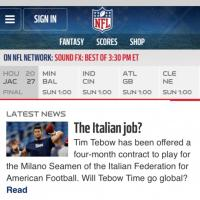 L'offerta italiana a Tebow su tutti i media Usa