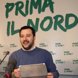 "Lega, Salvini segretario con l'80% ""Battaglia a Ue, è un gulag""   video"
