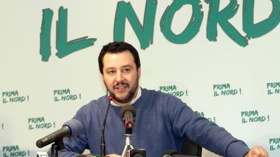 """Matteo Salvini è il nuovo segretario della Lega Nord: """"No all'Ue, è un gulag"""""""