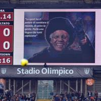 La Roma ricorda Nelson Mandela