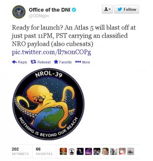 Usa, la piovra che controlla il mondo: la foto del satellite spia