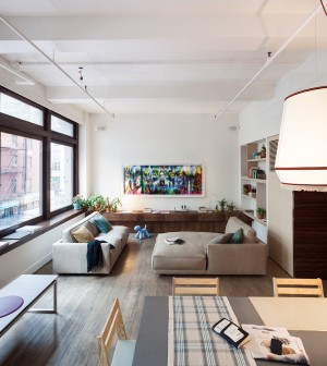 Il made in Italy abita a New York in un loft arredato a showroom