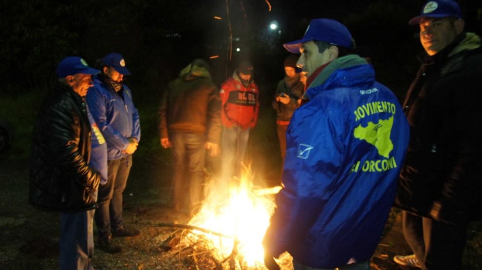 La protesta dei Forconi, a Catania presidi notturni e falò