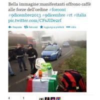 Forconi, da Milano a Palermo le foto della protesta su Twitter