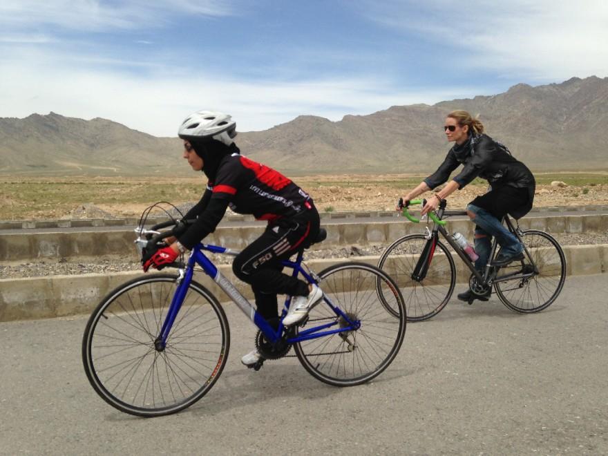 La rivoluzione a pedali delle donne afgane