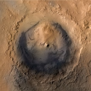 """Il cratere Gale, la """"scatola nera"""" del passato marziano"""