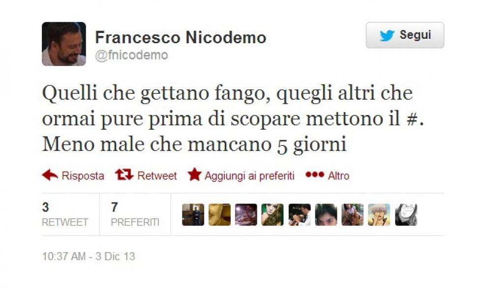 Squadra Renzi: alla comunicazione Nicodemo, incontenibile su Twitter