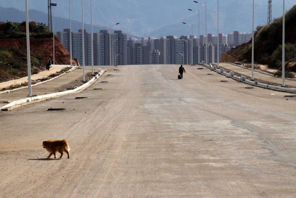Dentro Chenggong, la città fantasma