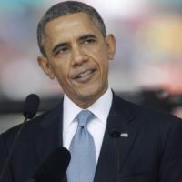 "Obama's speech at Mandela memorial: ""A giant of history"""