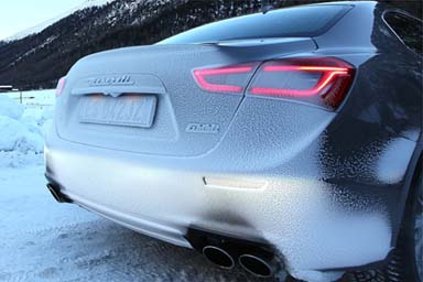 "Al via il ""Maserati Winter Tour"""