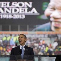 """Obama al Memorial per Mandela: """"Ci ha insegnato il potere delle azione, ma anche delle idee"""""""