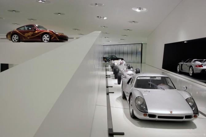 Museo Porsche, il mito è in mostra