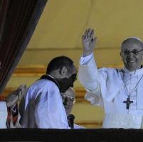 Il 2013 di papa Francesco: le foto simbolo
