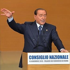 """Berlusconi: """"Se mi arrestano, ci sarà una rivoluzione in Italia"""""""