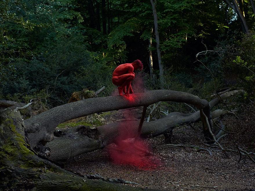 Tra arte circense e natura: i nudi dinamici di Nilsson