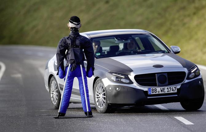 Nuova Classe C, il test di Michael Schumacher