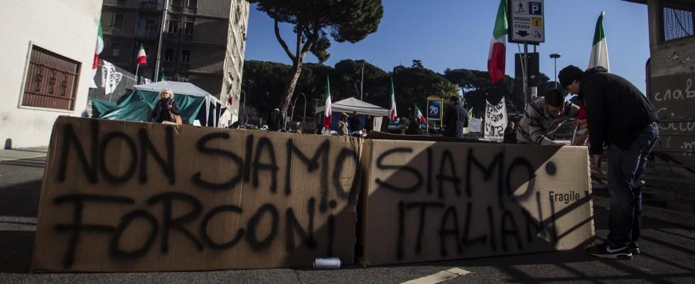 Forconi, la protesta non si ferma. Presidi in Veneto. A Roma manifestazione 'ridotta'