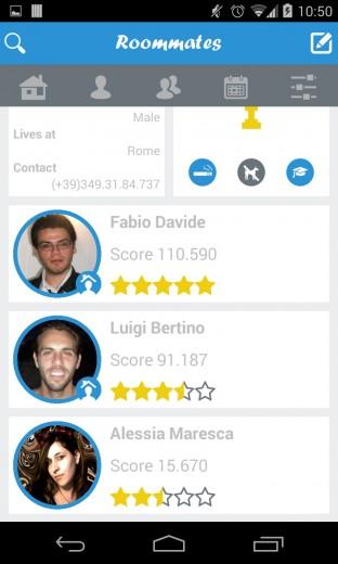 Roommates, l'app che dà i voti ai coinquilini fuorisede