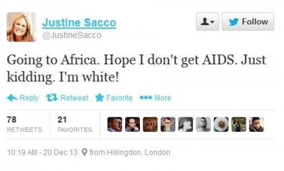 Scrive tweet razzista prima di partire e la rete esplode: manager licenziata in volo
