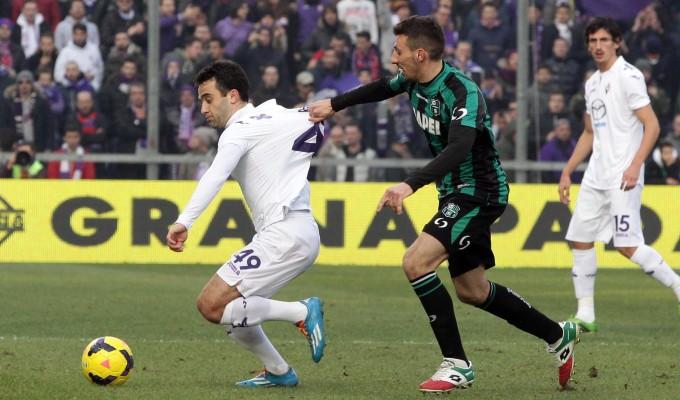 Серия А. Сассуоло - Фиорентина 0:1. Трудная победа