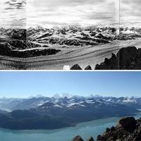 Alaska, il ritiro dei ghiacciai: il fotoconfronto