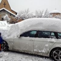 Maltempo, la neve isola Cortina: black out sulle Dolomiti