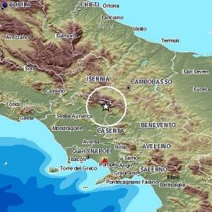 Forte terremoto in Campania, avvertito in Molise e Puglia. Altre scosse a Gubbio