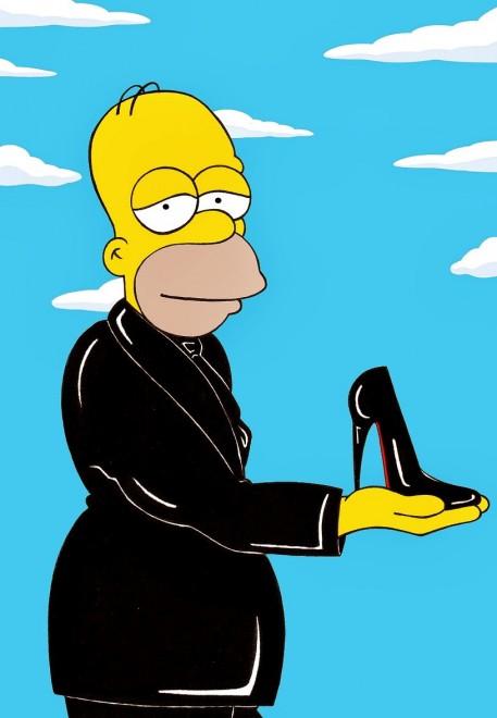 "Homer e Marge senza veli, i Simpson sono ""erotici"""