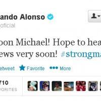 Schumacher in coma: i tweet degli amici