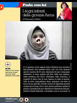 I sogni infranti della giovane Asma