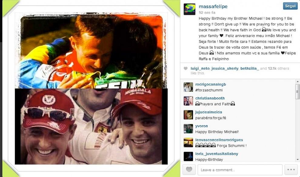 Schumacher Auguri Degli Amici Su Twitter Buon Compleanno Fratello