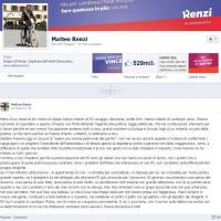 """Renzi risponde a Fassina su Fb: """"Continuerò a fare battute"""""""