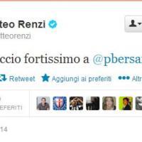 Malore Bersani, da Renzi a Berlusconi: i messaggi su Twitter