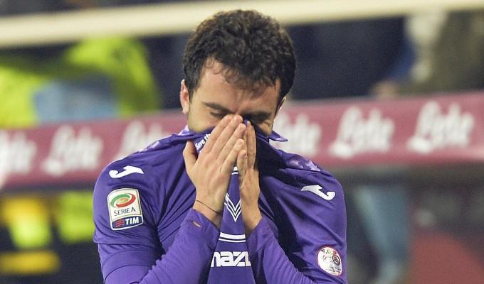 Fiorentina, distorsione al ginocchio per Rossi. Della..